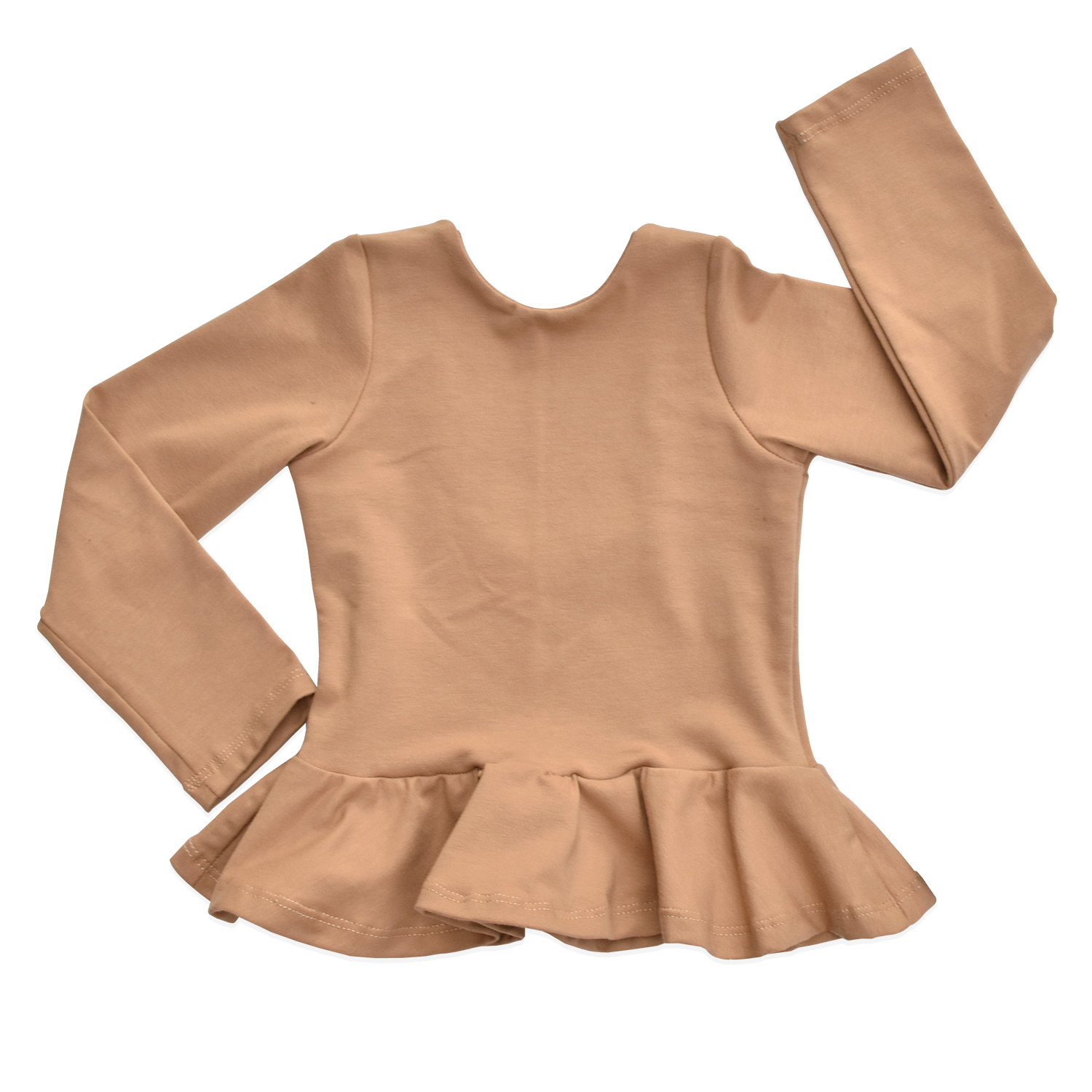 peplum-taupe-front-briabay